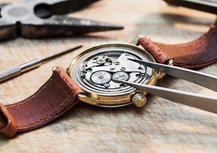 Watch Repair at Mark Peter's Diamond Designs