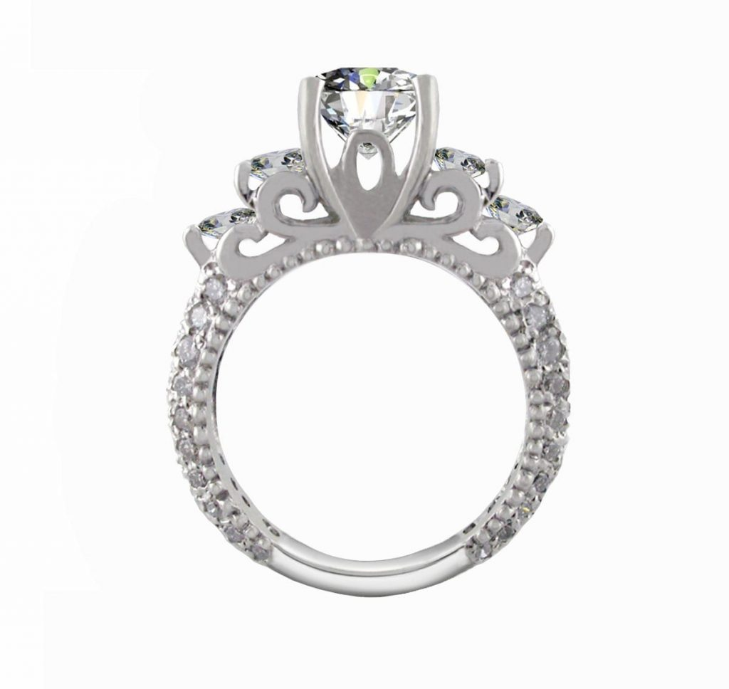 Custom Engagement Ring Mark Peter's Diamond Designs