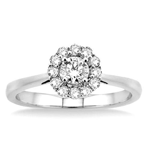 Lovebright Solitaire Enement Ring